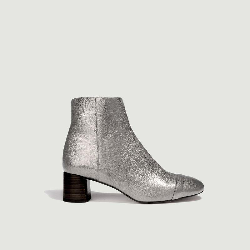 Boots en cuir métallisé Danna - Anaki