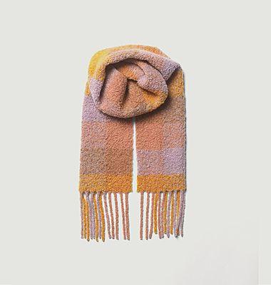 Check Teddy scarf