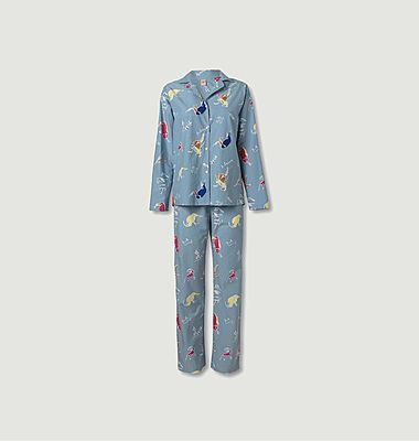 Chumama-Pyjama-Set aus Bio-Baumwolle