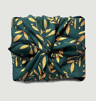 S Mistletoe Garden Reusable Gift Paper