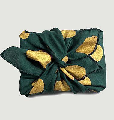 Papier cadeau réutilisable Flocons S