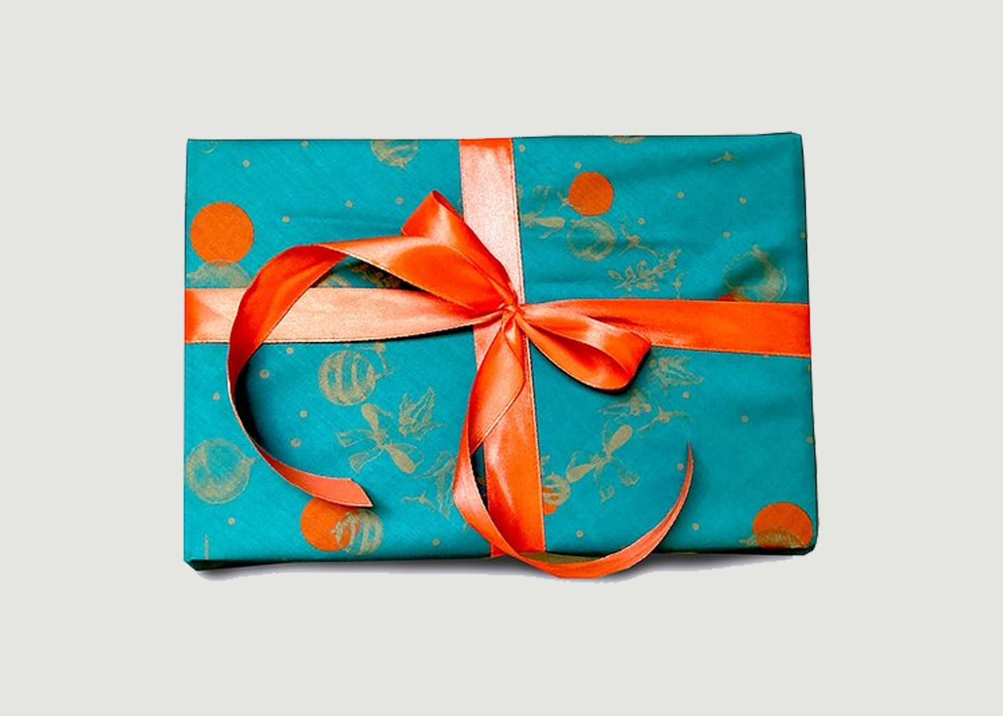Papier cadeau réutilisable Un Baiser à Minuit M - Carédeau
