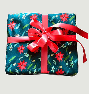 M Christmas Forest Reusable Gift Wrap Paper