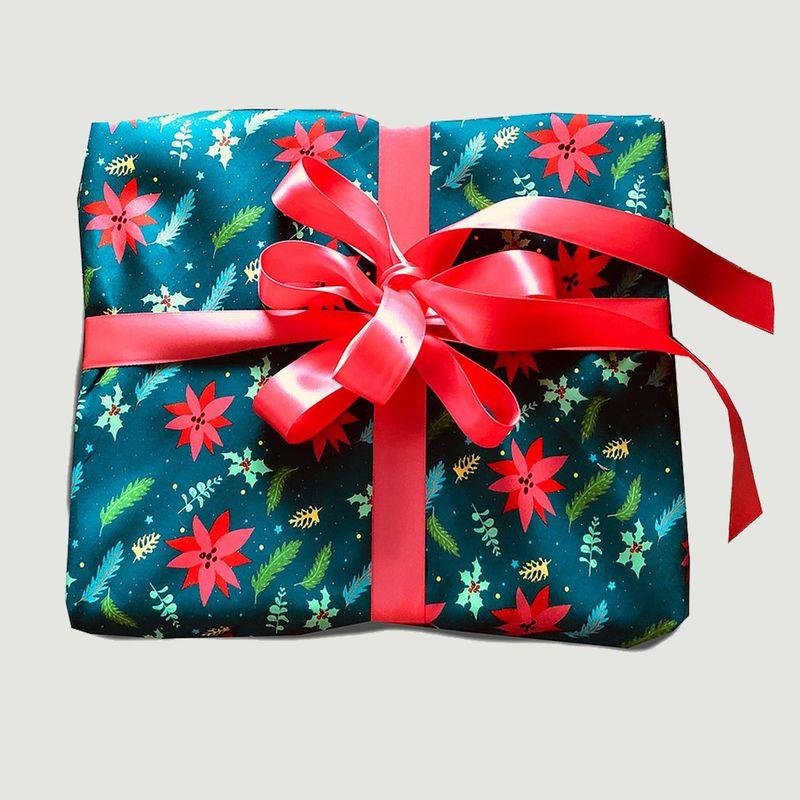 Papier cadeau réutilisable La Forêt de Noël M - Carédeau