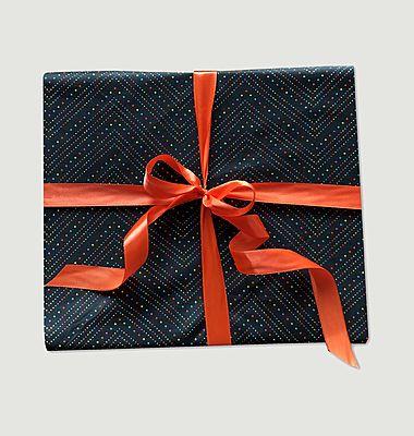 Papier cadeau réutilisable Fêtards L
