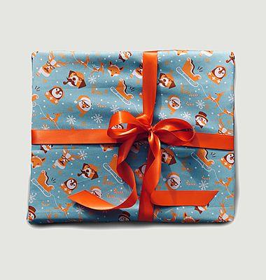 Papier cadeau réutilisable Cluedo