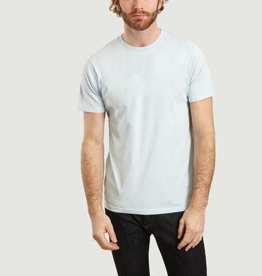 T-Shirt Uni Classique En Coton Bio