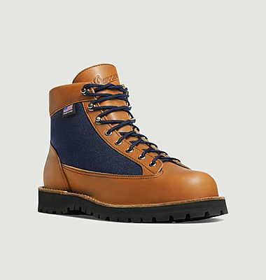 Danner Light denim and leather boots