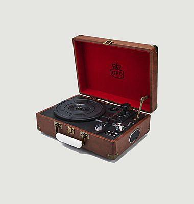 GPO Attaché Case haut-parleur tourne-disque