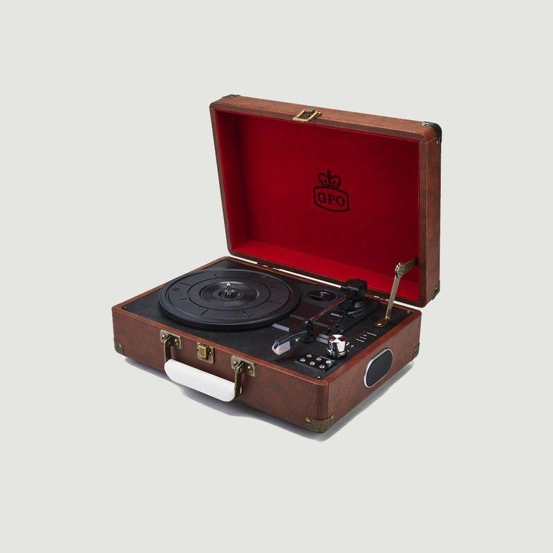 GPO Attaché Case haut-parleur tourne-disque - GPO Retro