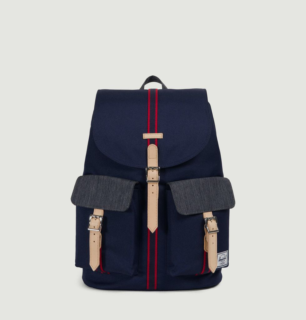 b82d1f7932a3 Dawson Backpack Navy Blue Herschel Supply Studio