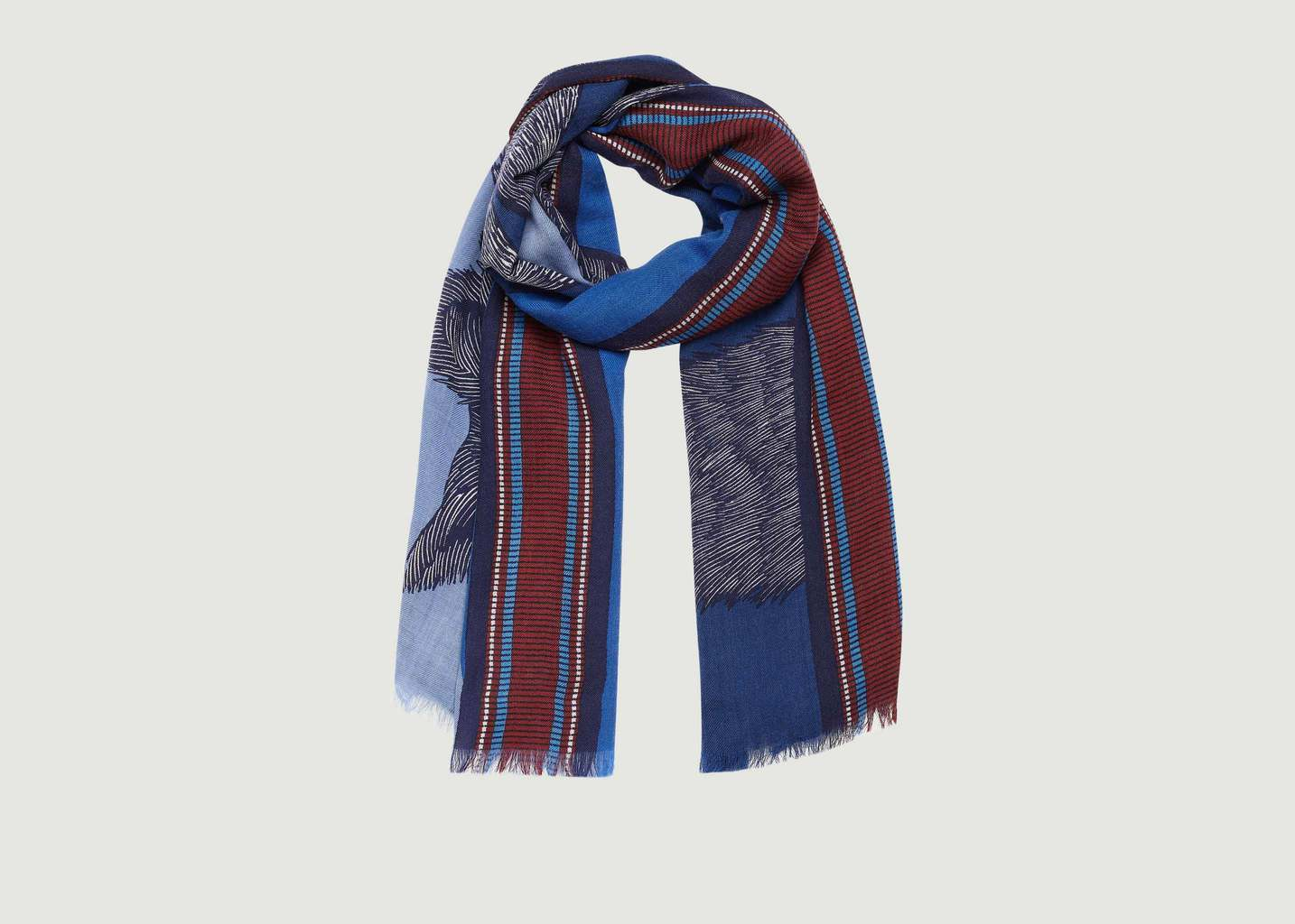 no sale tax new arrival outlet online Foulard Soto 100x190