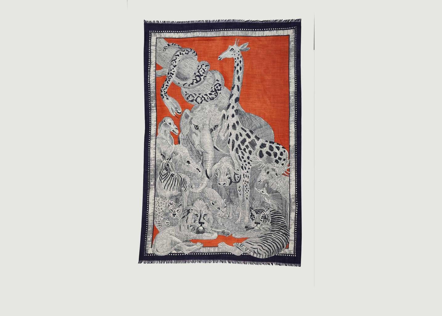 Foulard Balthus 130x190 - Inouitoosh