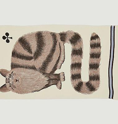Etole en laine motif chat Grosse Truffe