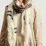 matière Etole en laine motif chat Grosse Truffe - Inouitoosh