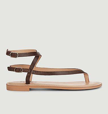 Sandales Olive