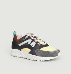 Sneakers Daim Et Nylon Fusion 2.0