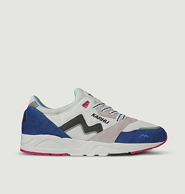 Sneakers multi-matières Aria
