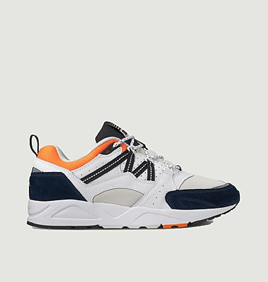 Fusion 2.0 leather and mesh running sneakers