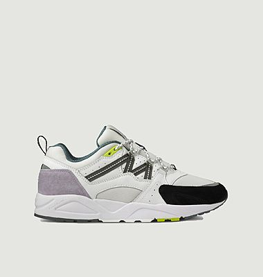 Sneakers de running en cuir et tissu Fusion 2.0