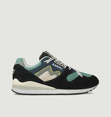 Sneakers de running en cuir suédé et mesh Synchron Classic