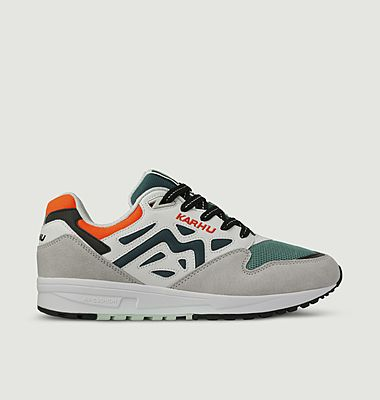Legacy 96 leather and mesh running sneakers