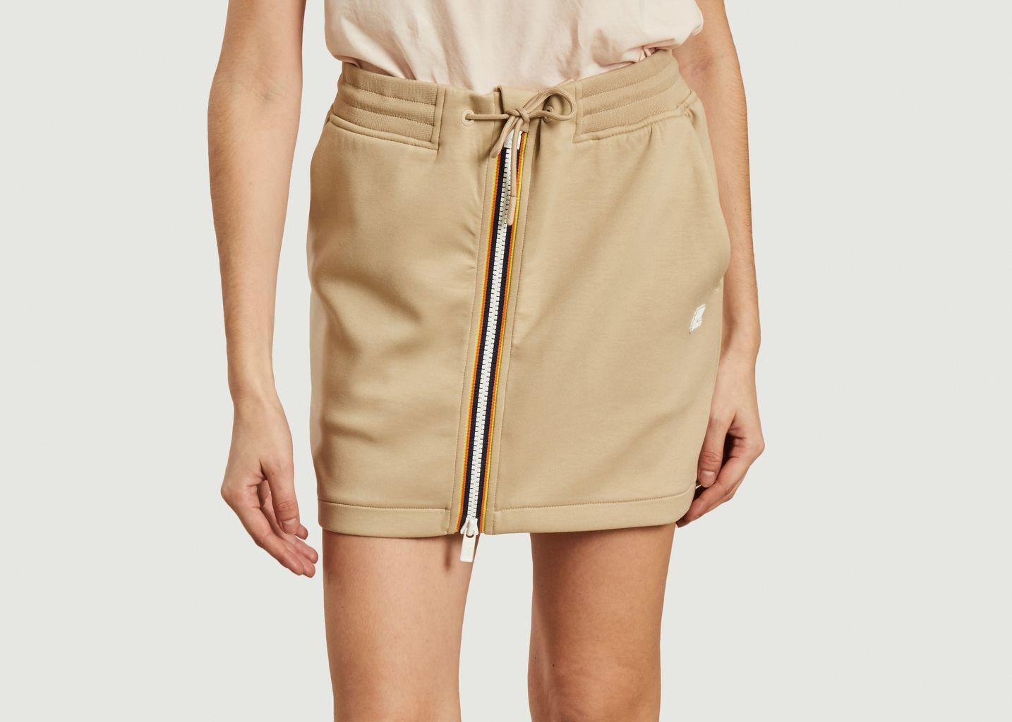 Jupe courte zippée Josette Spacer - K-Way