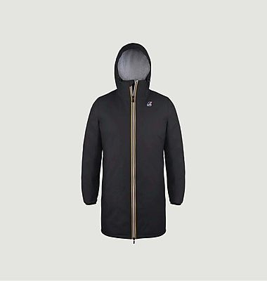 Le Vrai 3.0 Eiffel Orsetto fleece lined long jacket