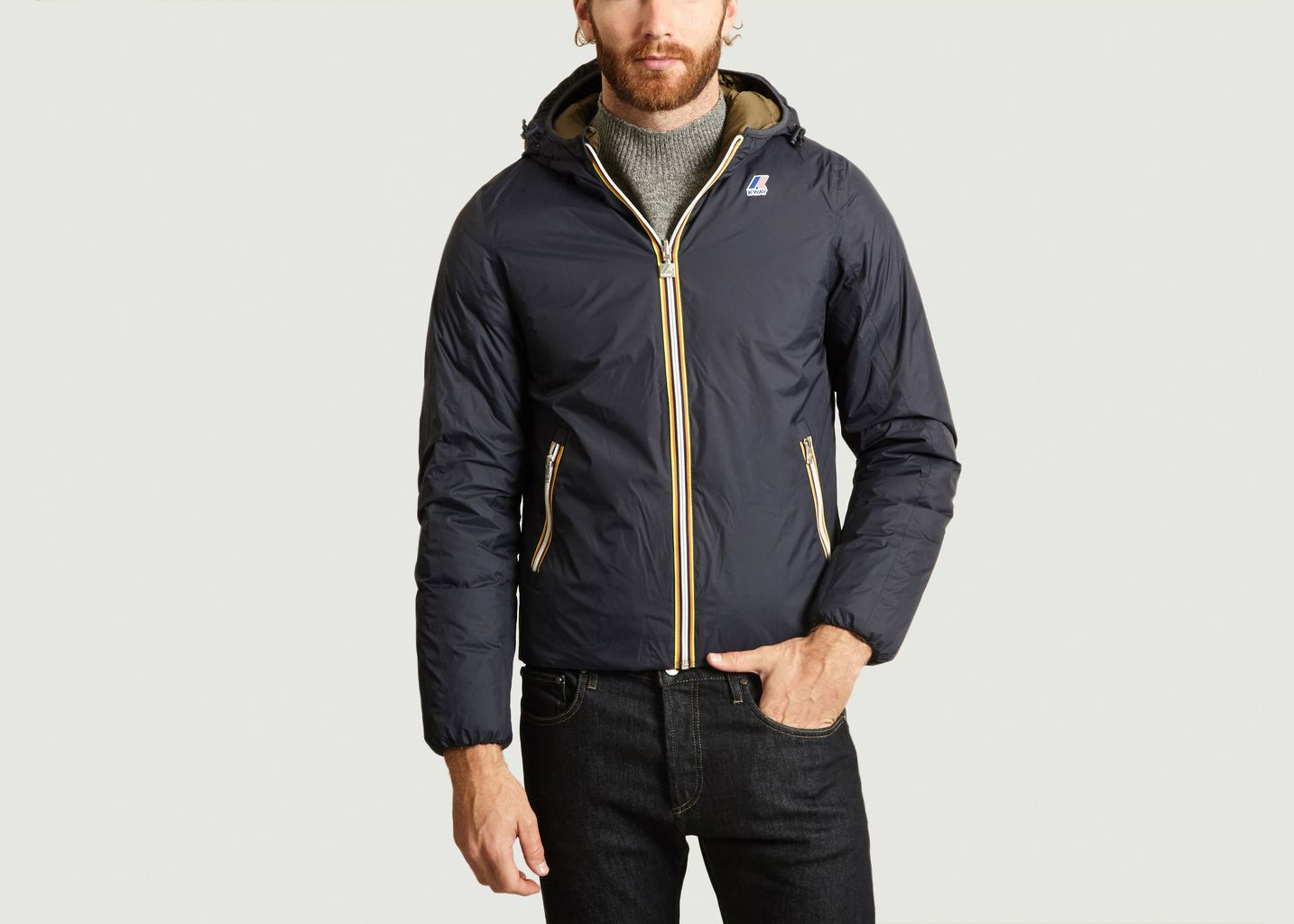 Blouson Réversible Jacques Thermo Plus Double - K-Way