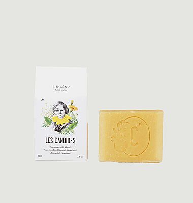 Ingenious Soap with honey and calendula - 80gr