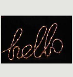 Hello Nylon Lamp