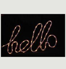 Lampe Nylon Hello