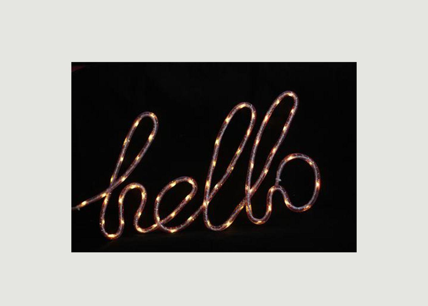 Lampe Nylon Hello - Locomocean