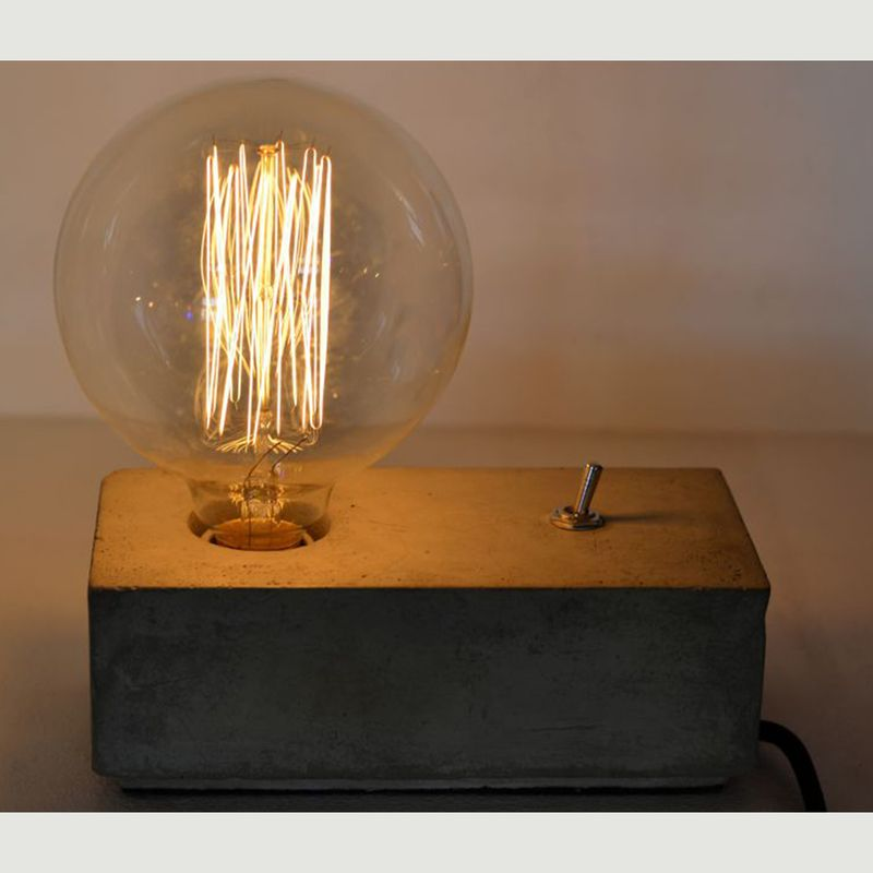 Concrete Block Light - Locomocean