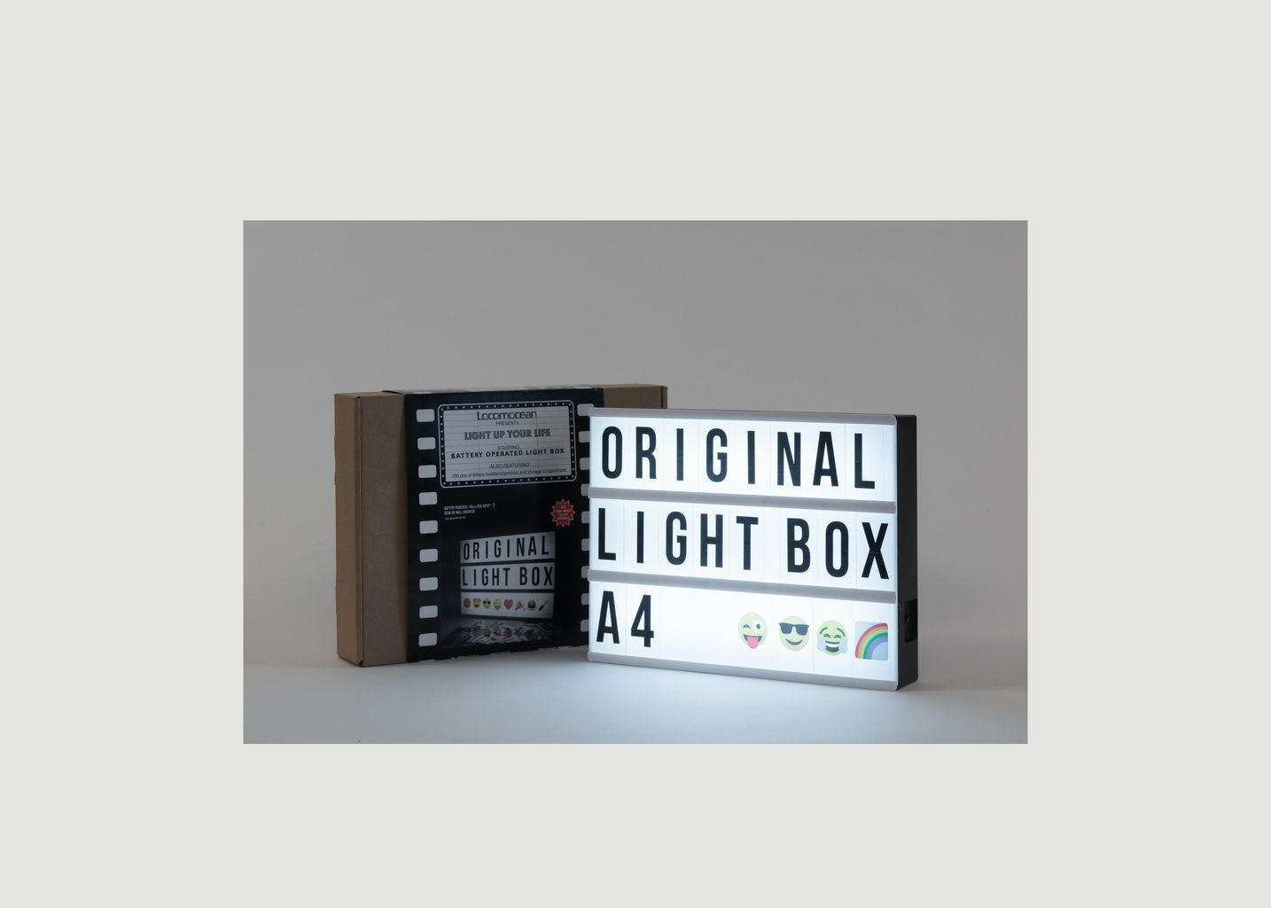 A4 Lightbox  - Locomocean