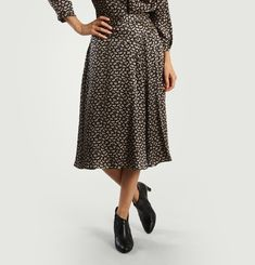 Luna Silk Skirt
