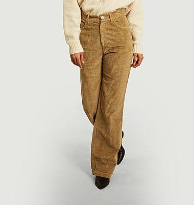 Pantalon Arvin en velours côtelé