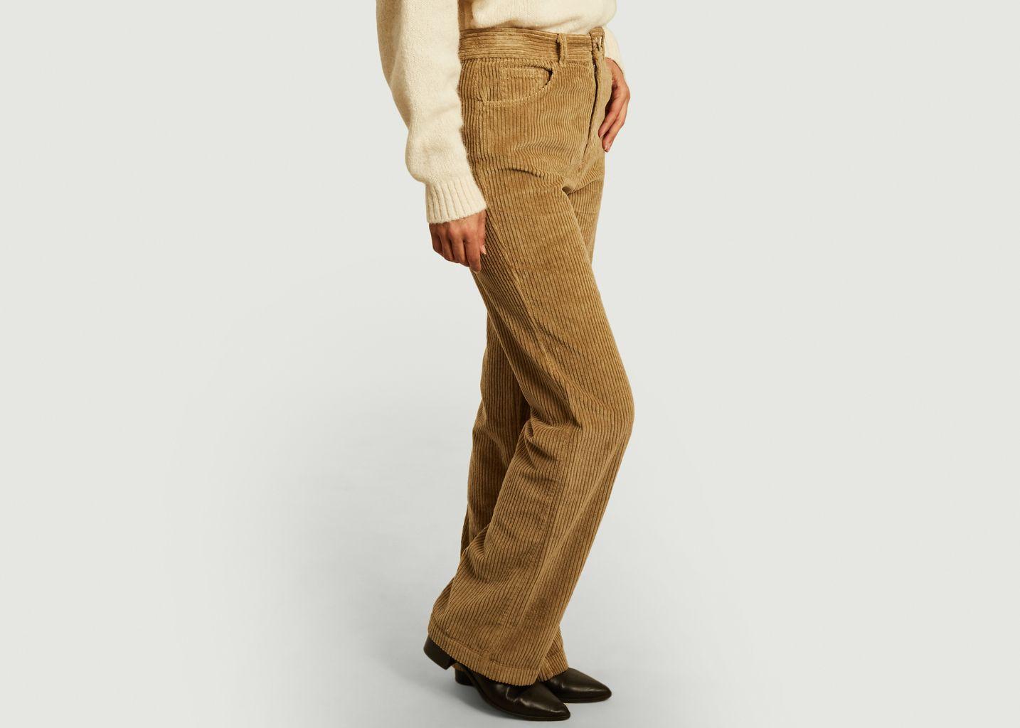 Pantalon Arvin en velours côtelé  - Masscob