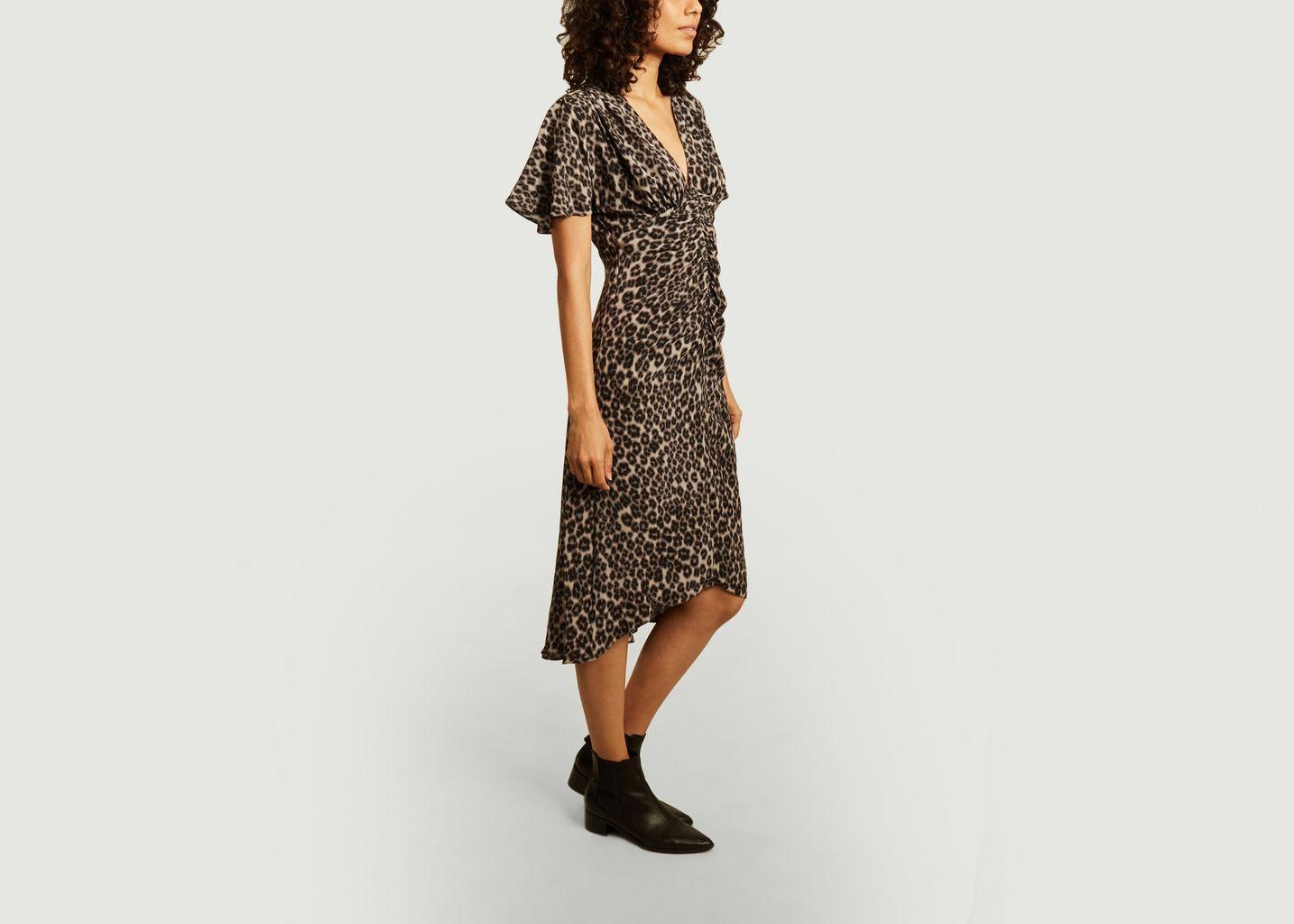 Robe Dayton imprimé léopard - Masscob