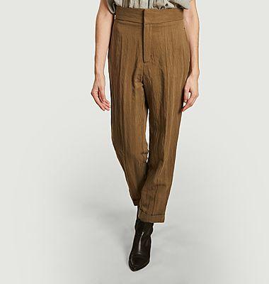 Pantalon Johan à taille haute