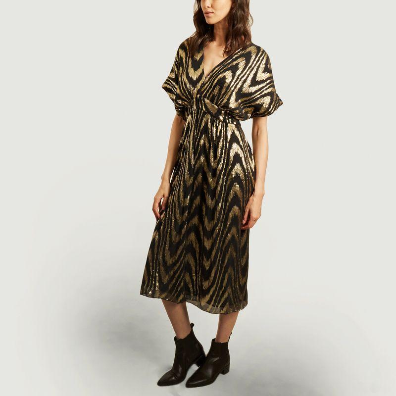 Robe Astrid imprimé animalier - Masscob