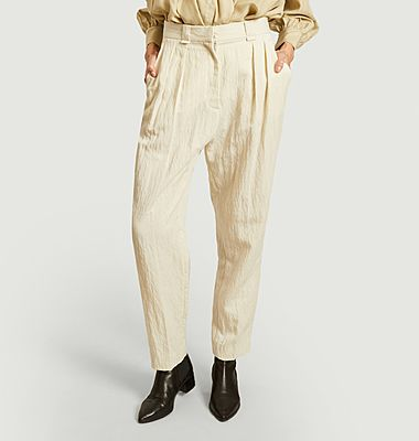 Pantalon Argo à plis
