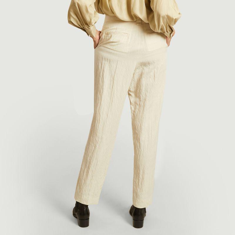 Pantalon Argo à plis  - Masscob