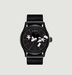 Montre Sentry Leather Mickey