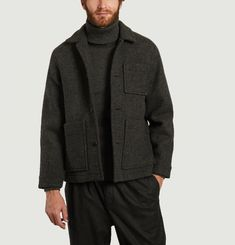 Veste en laine mérinos Dubliner
