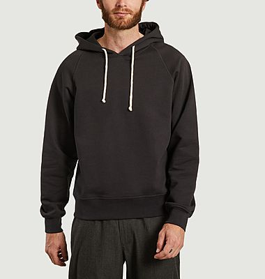 Cotton straight fit hoodie