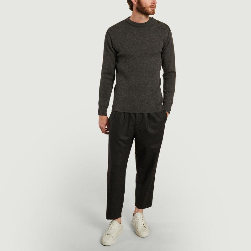 Pantalon large 7/8e en flanelle - Outland