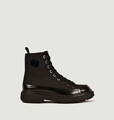 Boots Octavie en cuir