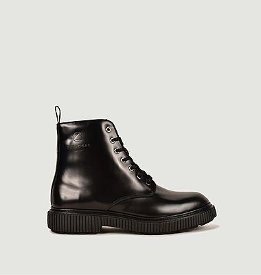 Boots Junko en cuir
