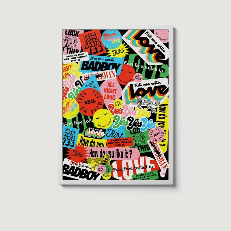 Puzzle Pop Up 1000 pièces - Piece & Love